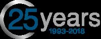 Logo 25 years Métalec 1993-2018